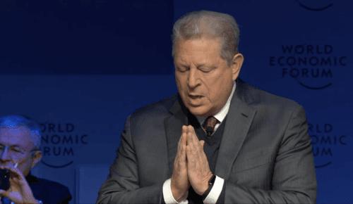 Al Gore at Davos today