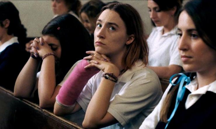Saoirse Ronan in hot favorite Lady Bird.