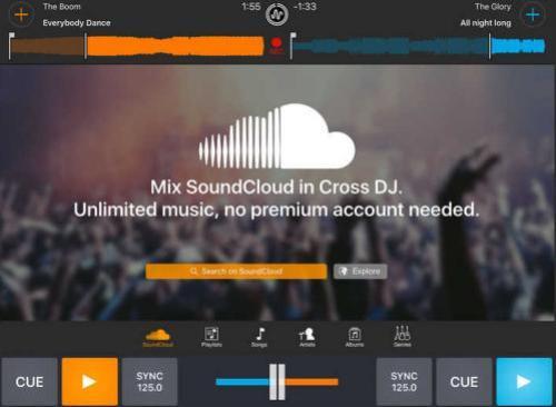 Cross DJ.