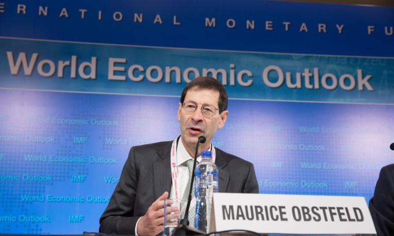 IMF chief economist Obstfeld