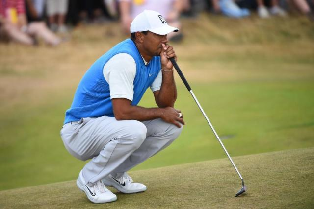 Woods, back at -2.