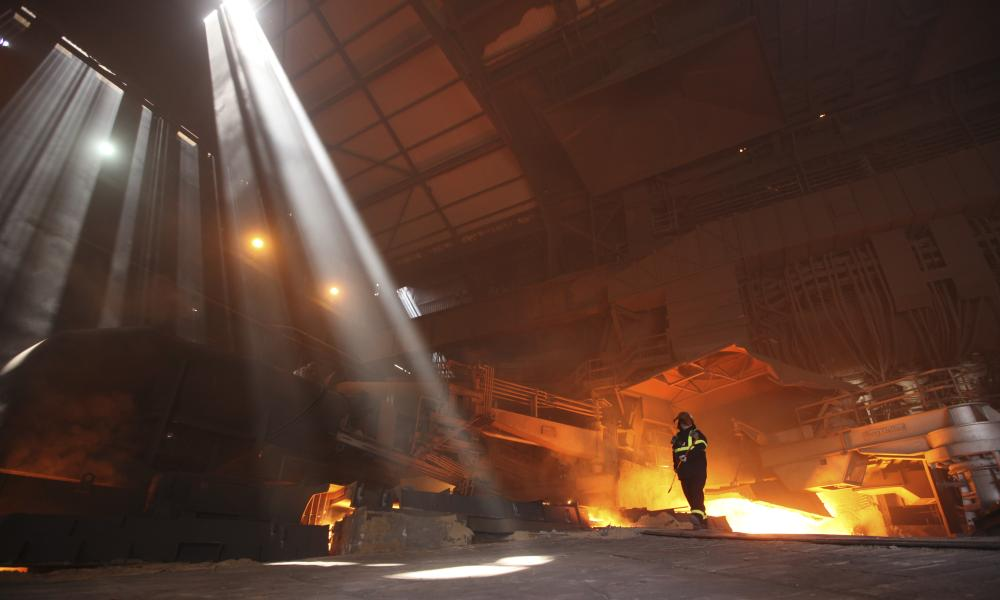SSI's steel plant in Redcar.