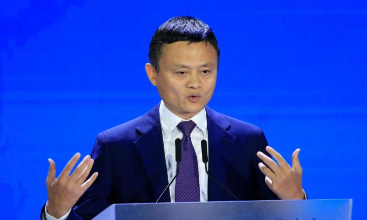 Alibaba Group's Jack Ma.