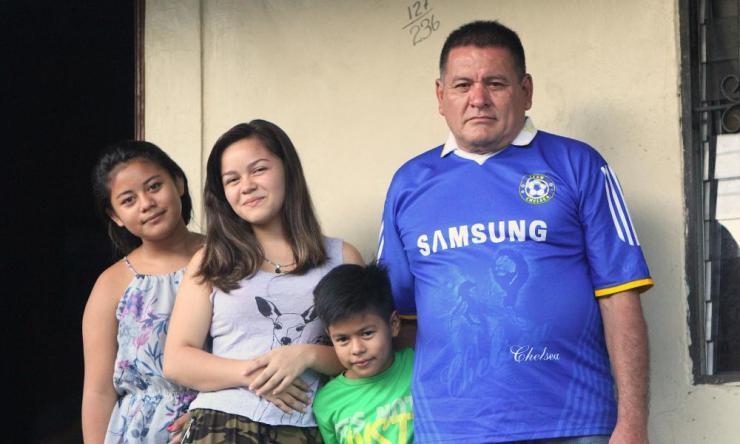 José Ramos's family.