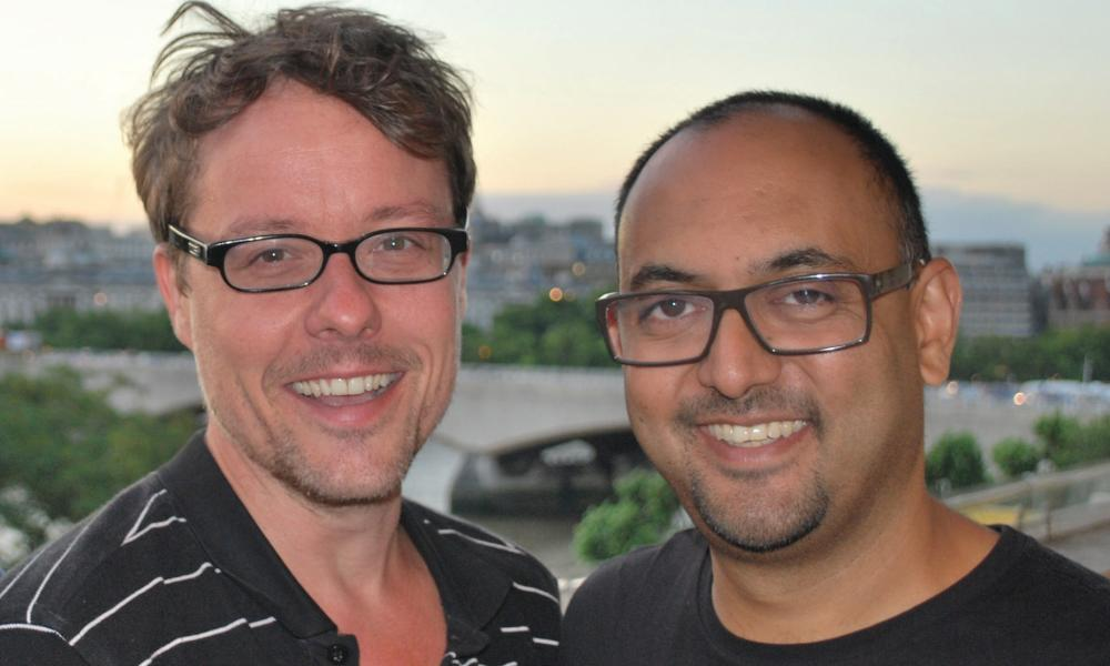 Ben Rogers and Shaff Prabatani, co-founders of Storemates.