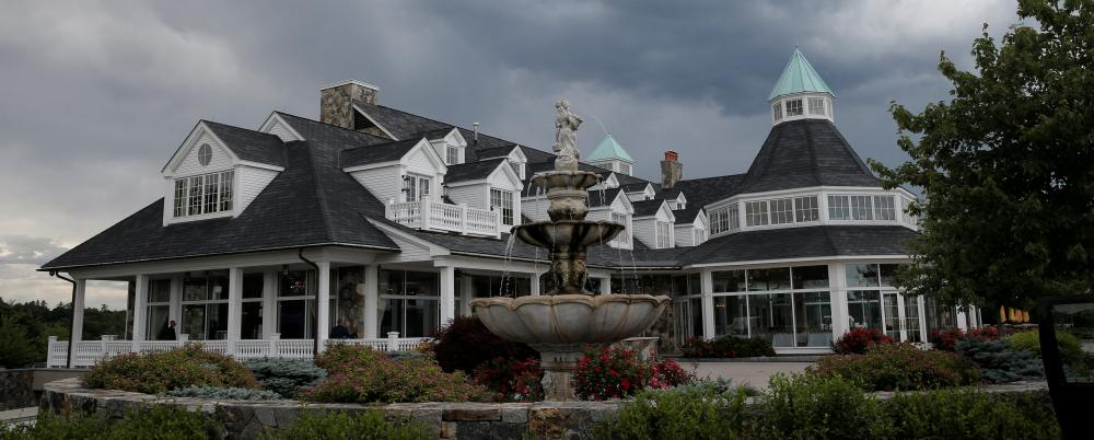 The Trump National golf club in New York state.