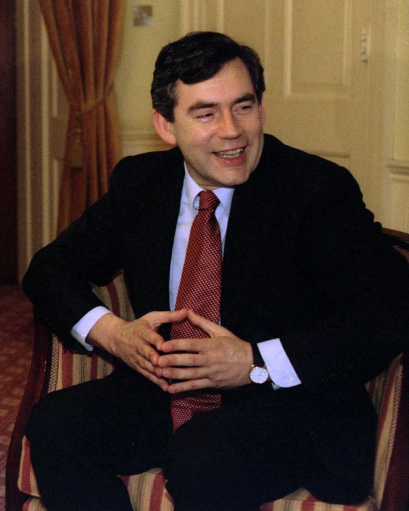 Gordon Brown as chancellor in 1997.
