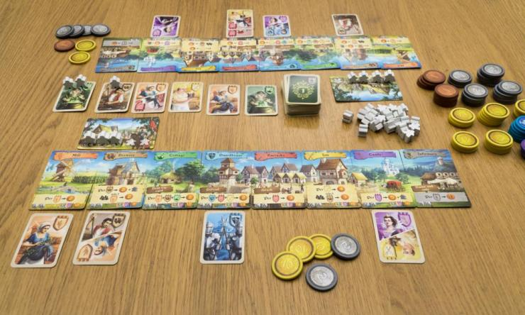 Majesty: For The Realm sees players competing to recruit workers and soldiers in an effort to build thriving cities.
