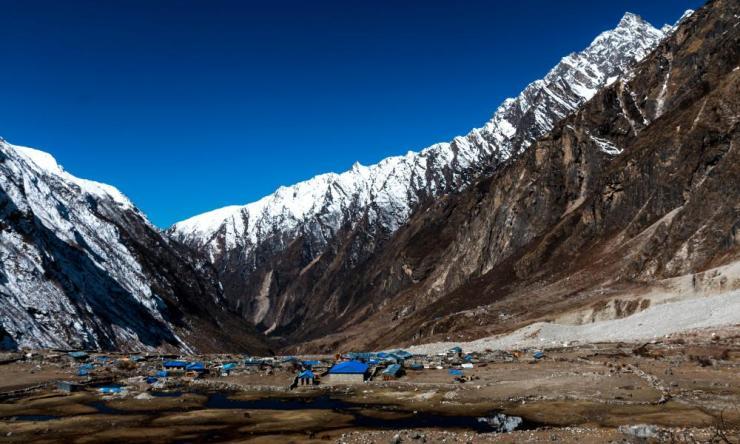 Nepal's Langtang valley, near the Tibetan border.