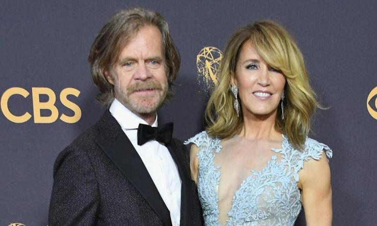William H. Macy and Felicity Huffman.