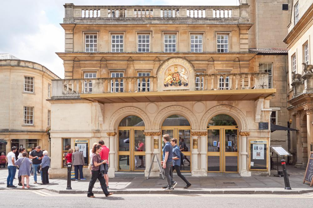 Exterior of the Theatre Royal, Bath.
