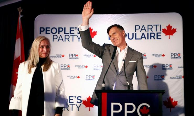 Maxime Bernier, the head of the populist People's Party of Canada has lost his seat leaving the future of his party in doubt.