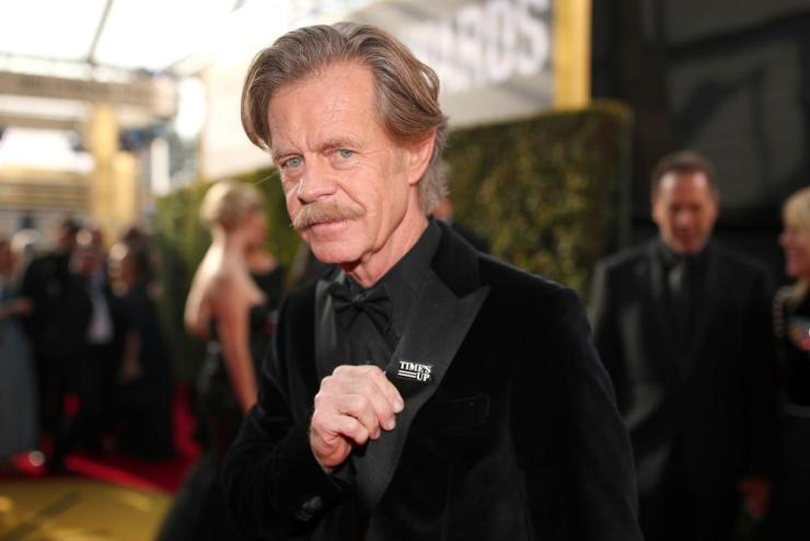 William H. Macy arrives to the 75th Annual Golden Globe Awards