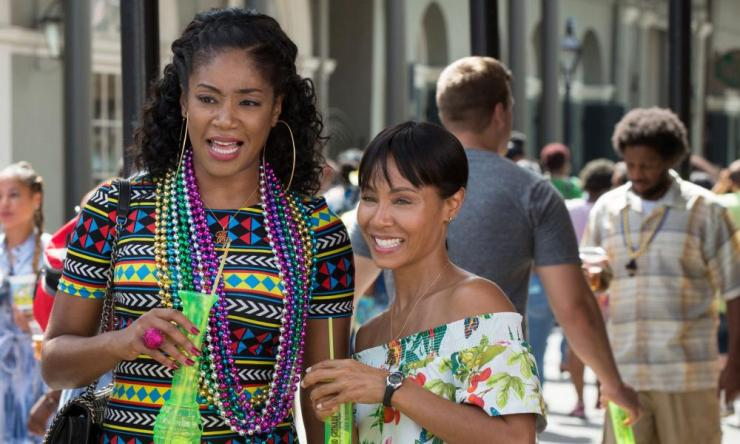 Tiffany Haddish and Jada Pinkett Smith in Girls Trip.