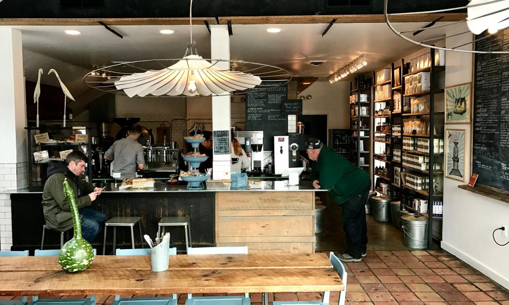 Six Depot Roastery and Cafe, West Stockbridge, MA, USA