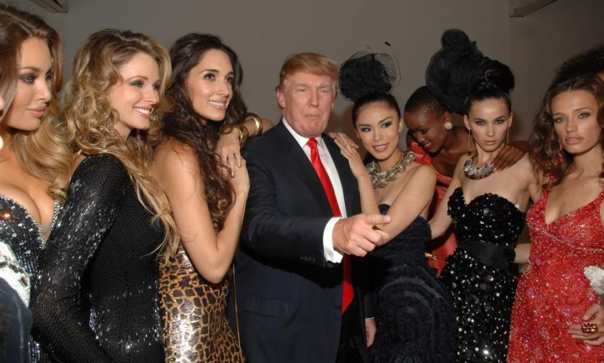 The commodification of women is embodied by our president.