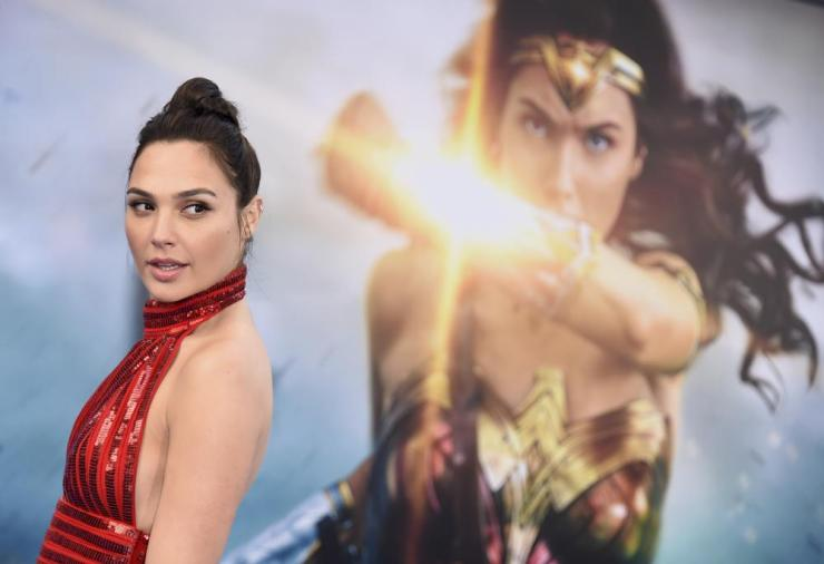 Wonder Woman star Gal Gadot.
