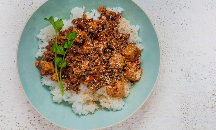 Tim Anderson's mapo tofu is a Sichuan classic.
