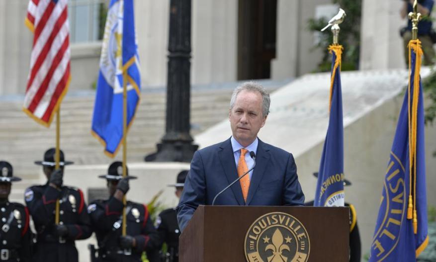 Louisville Mayor Greg Fisher.