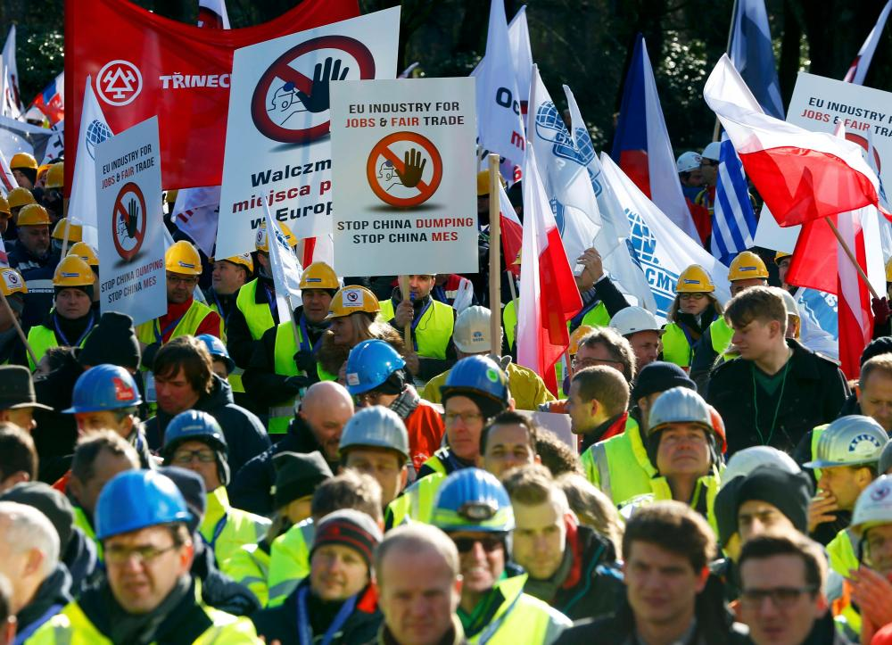 Workers want the European Commission to take action.t