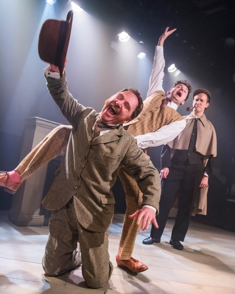 The Hound of the Baskervilles at Jermyn St theatre.