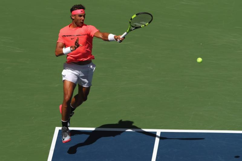 Nadal wins in straight sets.