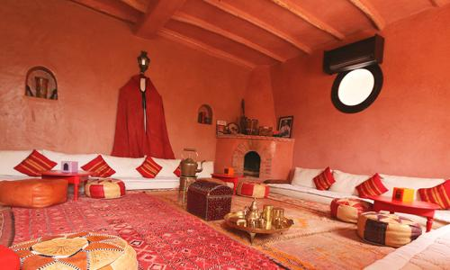 A room at the Atlas Kasbah, Agadir