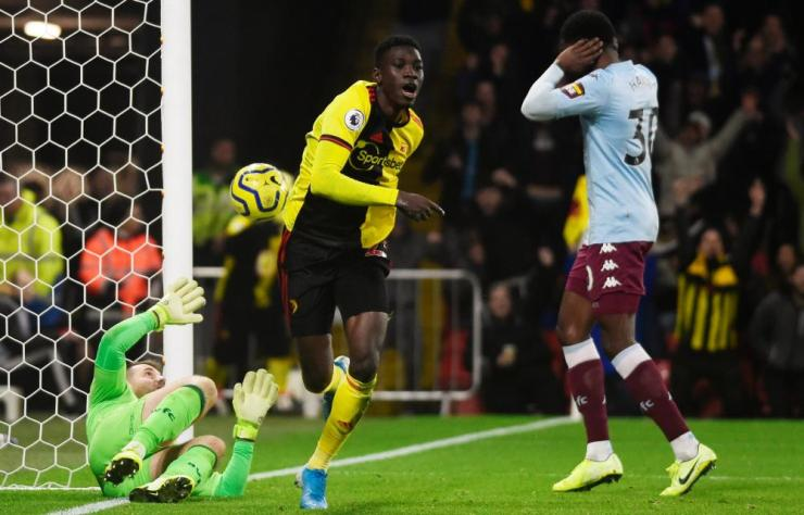 Ismaila Sarr seals the win for Watford.