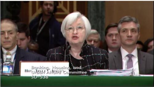 Yellen testimony