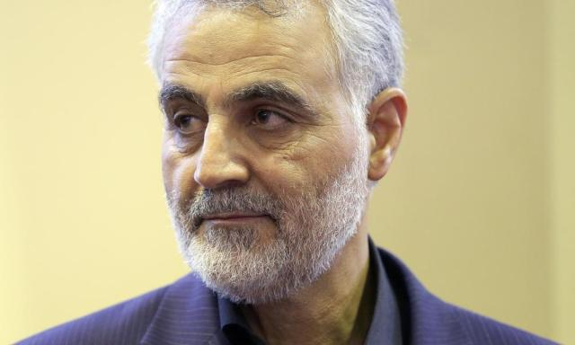 Commander of the Iranian Quds Force General Qassem Suleimani.