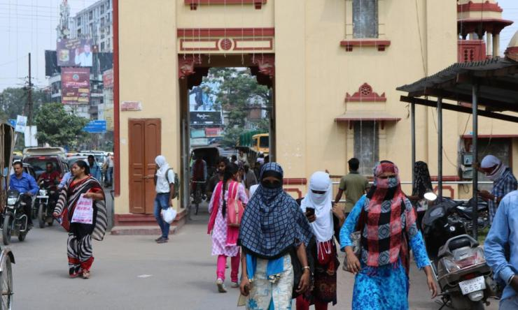 Lanka gate in Varanasi