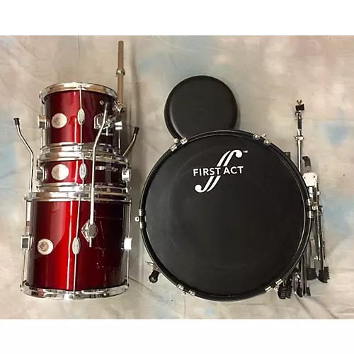 4 Piece Drum Set Drum Kit   Guitar Center First Act 4 Piece Drum Set Drum Kit