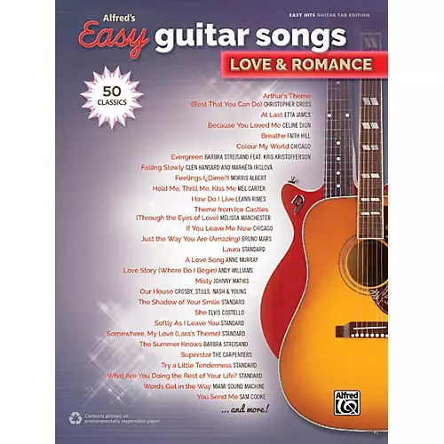 Easy Love Songs Guitar