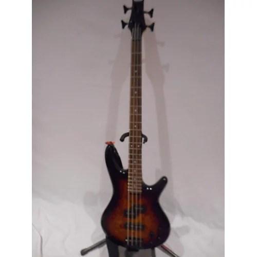Used Ibanez Gsr200 Electric Bass Guitar Brown Sunburst