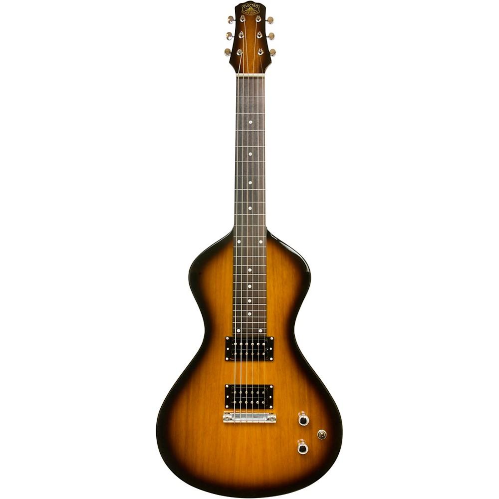 Asher Guitars & Lap Steels Electro Hawaiian Junior Lap Steel Guitar Tobacco Burst