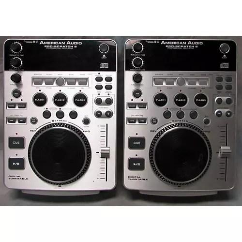 Used American Audio Pro Scratch 2 Pair DJ Player   Guitar ...