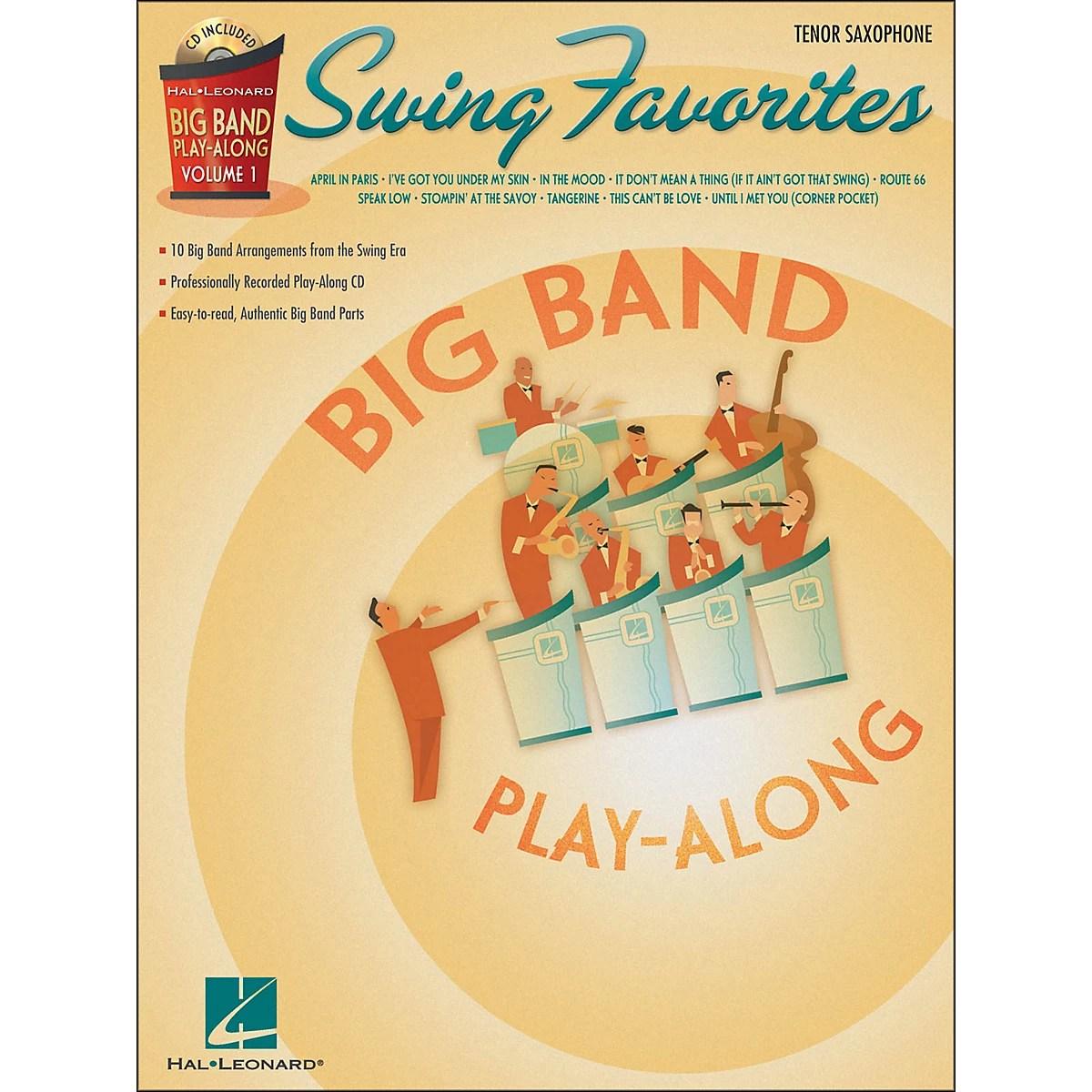 Hal Leonard Swing Favorites Big Band Play Along Vol 1