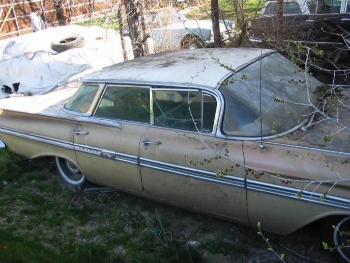 1959 Chevrolet Impala unrestored
