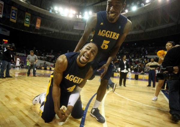 North Carolina A&T wins MEAC tournament at Scope ...