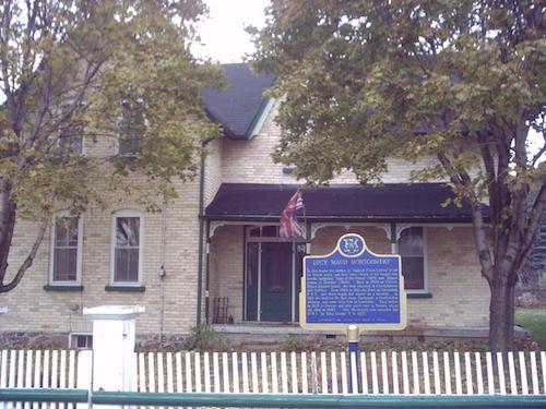 خانهٔ محل سکونت لوسی مونتگومری در سالهای ۱۹۱۱ تا ۱۹۲۶ در لیزکدیل