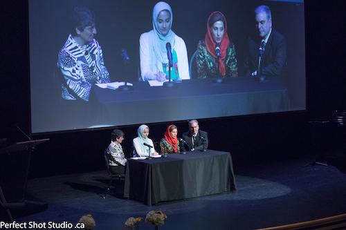 مروری بر مراسم بزرگداشت خانم فاطمه معتمد آریا در ونکوور و کارگاه بازیگری زیر نظر ایشان