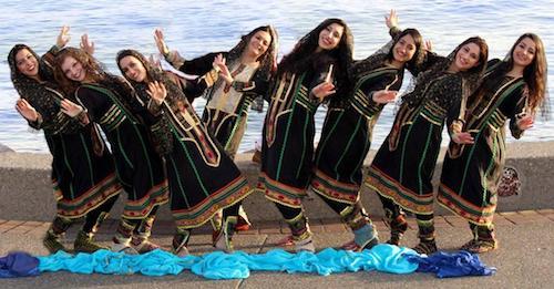 گروه بالهٔ ملی پارس ونکوور در جشن ۱۵۰ سالگی کانادا
