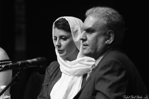 با لیلا حاتمى در ونکوور