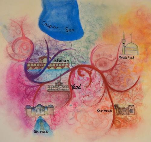 گفتوگو با شمین ذهبیون، هنرمند جوان ایرانی ساکن ونکوور