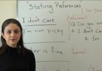 چگونگی بیان خواستهها و ترجیحات در زبان انگلیسی
