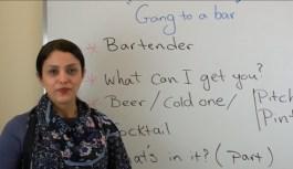 آموزش زبان انگلیسی: رفتن به بار
