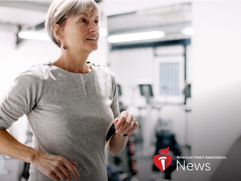 News Picture: AHA News: Belly Fat Ups Older Women's Heart Risks, Even Without Obesity