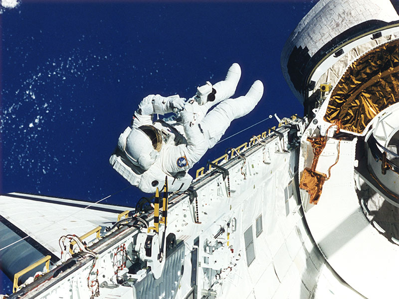 News Picture: Astronauts May Get Space Fever
