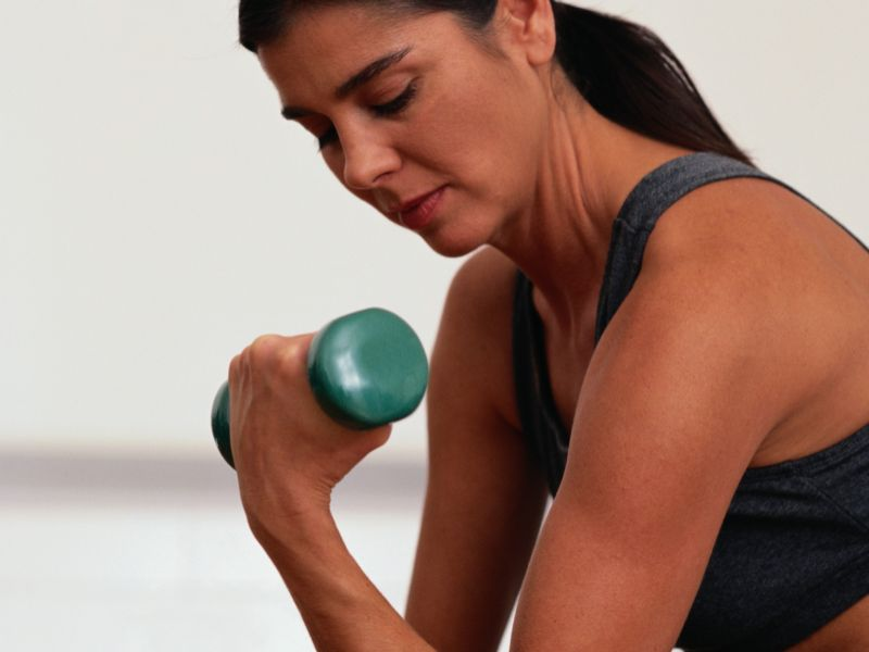News Picture: A Workout to Shape Your Shoulders