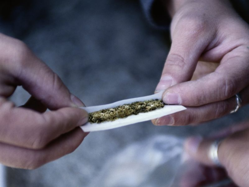 News Picture: Pot Won't Harm Healthy Young People's Kidneys, Study Suggests